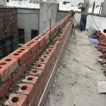 parapet wall waterproofing contractors nyc